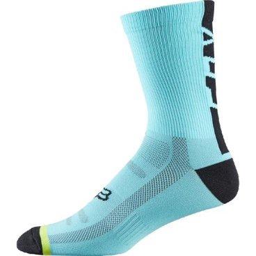 """Носки Fox DH 6-inch Socks, синийВелоноски<br>Высокие носки от Fox, выполненные из быстросохнущего синтетического материала, который хорошо отводит влагу от кожи. Вставки из эластичной сетчатой ткани и сглаженные швы обеспечивают дополнительный комфорт. Эти носки – одни из самых удобных, и они отлично подойдут как для катания на велосипеде, так и для любой другой активности.<br><br><br><br>ОСОБЕННОСТИ<br><br><br><br>Высокие (6"""") носки от Fox<br><br>Материал: полипропилен<br><br>Вставки из эластичной сетчатой ткани в критических местах<br><br>Сглаженные швы<br>"""