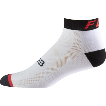 """Носки Fox Logo Trail 4-inch Sock Flame, красныйВелоноски<br>Новые носки от Fox, выполненные из быстросохнущего синтетического материала, который хорошо отводит влагу от кожи. Вставки из эластичной сетчатой ткани и сглаженные швы обеспечивают дополнительный комфорт. Эти носки – одни из самых удобных, и они отлично подойдут как для катания на велосипеде, так и для любой другой активности.<br><br><br><br>ОСОБЕННОСТИ<br><br><br><br>Средние (4"""") носки от Fox<br><br>Материал: полипропилен<br><br>Вставки из эластичной сетчатой ткани в критических местах<br><br>Сглаженные швы<br>"""