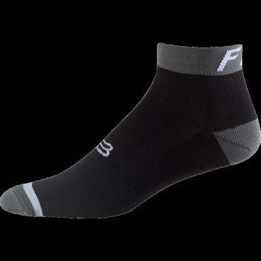 """Носки Fox Logo Trail 4-inch Sock, черныйВелоноски<br>Новые носки от Fox, выполненные из быстросохнущего синтетического материала, который хорошо отводит влагу от кожи. Вставки из эластичной сетчатой ткани и сглаженные швы обеспечивают дополнительный комфорт. Эти носки – одни из самых удобных, и они отлично подойдут как для катания на велосипеде, так и для любой другой активности.<br><br><br><br>ОСОБЕННОСТИ<br><br><br><br>Средние (4"""") носки от Fox<br><br>Материал: полипропилен<br><br>Вставки из эластичной сетчатой ткани в критических местах<br><br>Сглаженные швы<br>"""