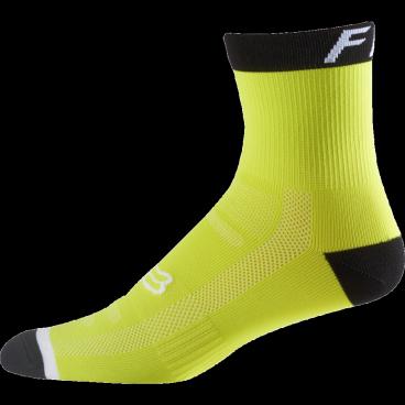 """Носки Fox Logo Trail 6-inch Sock Flow, желтыйВелоноски<br>Специальные велосипедные носки Fox 6 TRAIL Socks, выполненные из быстросохнущего синтетического материала, который хорошо отводит влагу от кожи. Вставки из эластичной сетчатой ткани и сглаженные швы обеспечивают дополнительный комфорт. Эти носки – одни из самых удобных и отлично подойдут как для катания на велосипеде, так и для любой другой активности.<br><br>Высокие 6"""" носки от Fox<br><br>Материал: полиестер<br><br>Вставки из эластичной сетчатой ткани в критических местах<br><br>Сглаженные швы<br>"""