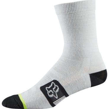 Носки Fox Merino Wool Socks Heather, белыйВелоноски<br>Носки Fox Merino Wool Socks Heather 6 White<br>