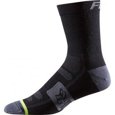 Носки Fox Merino Wool Socks, черныйВелоноски<br>Носки Fox Merino Wool Socks 6 Black<br>