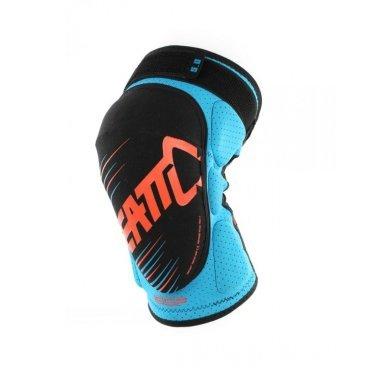Наколенники Leatt 3DF 5.0 Knee Guard, сине-оранжевыйЗащита колена<br>Мягкие наколенники, которые отлично защищают даже от сильных ударов, благодаря вставкам из патентованного пеноматериала со сложной трёхмерной структурой. Синтетический материал внутренника хорошо отводит влагу, внешняя часть усилена арамидным волокном для устойчивости к истиранию.<br><br>ОСОБЕННОСТИ<br><br>Лёгкие и удобные мягкие наколенники<br>Отвечают требованиям стандарта безопасности CE<br>Дополнительные накладки по бокам для защиты наиболее уязвимых частей колена<br>Силиконовые накладки на внутренней части предотвращают сползание<br>Внешняя часть усилена арамидным волокном для устойчивости к истиранию<br>Регулируемые застёжки для идеальной подгонки по ноге<br>
