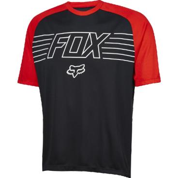 Велофутболка Fox Ranger Prints SS, черныйВелофутболка<br>Джерси лаконичного дизайна, выполненное из тонкой синтетической ткани. Модель отлично дышит и быстро сохнет, а удлинённая задняя часть хорошо прикрывает поясницу во время езды. <br><br>ОСОБЕННОСТИ:    <br><br>    Материал: 100% полиэстер <br>    Швы сглажены для дополнительного комфорта <br>    Удлинённая задняя часть прикрывает поясницу во время езды <br>    Вставки из сетчатого материала для лучшей вентиляции <br>    Лоскут для протирки очков на внутреннем шве <br>    Оригинальная графика<br>