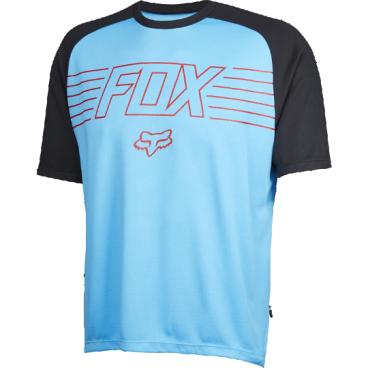 Велофутболка Fox Ranger Prints SS, красно-голубойВелофутболка<br>Джерси лаконичного дизайна, выполненное из тонкой синтетической ткани. Модель отлично дышит и быстро сохнет, а удлинённая задняя часть хорошо прикрывает поясницу во время езды. <br><br>ОСОБЕННОСТИ:    <br><br>    Материал: 100% полиэстер <br>    Швы сглажены для дополнительного комфорта <br>    Удлинённая задняя часть прикрывает поясницу во время езды <br>    Вставки из сетчатого материала для лучшей вентиляции <br>    Лоскут для протирки очков на внутреннем шве <br>    Оригинальная графика<br>
