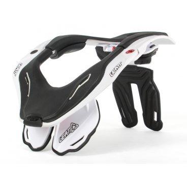 Защита шеи Leatt DBX Ride 5.5 Brace, бело-черныйЗащита шеи<br>Новейшая версия самой популярной и технологичной защиты шеи в мире. Лёгкая и комфортная, она не сковывает движений и обеспечивает максимальную безопасность, что подтверждает сертификат CE. Кроме того, данную модель легко отрегулировать и подогнать под себя – а это критически важно не только для удобства, но и для эффективности защиты. Благодаря низкопрофильным боковым частям, DBX 5.5 отлично подойдёт детям, подросткам и людям с не слишком длинной шеей – словом, всем.<br>