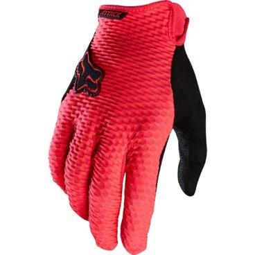 Велоперчатки Fox Attack Glove, неоновый красный (2016)Велоперчатки<br>Спортивные велоперчатки Fox Attack Glove идеальны для соревновательных заездов и хорошо подходят также для повседневного катания. Ультрастильный дизайн, яркая расцветка и хорошие рабоче качества - вот краткая характеристика модели Attack Glove. Эти спортивные перчатки дают любому райдеру возможность кататься с максимальной степенью комфорта, вне зависимости от стиля и предпочтений. Вес перчаток незначителен, в верхней части используется сетчатый материал с эффективной вентилляцией. Перчаткам Attack не страшна влага, ведь в них используется запатентованная технология Ionmask, которая работает для отвода влаги по молеклярной структуре внешней оболочки. В любых условиях: в дождь, грязь, снег и солнце - Attack Glove будут верными мягкими спутниками райдера, делая каждую поезду чуть более приятной и мягкой!<br><br>ТЕХНИЧЕСКИЕ ХАРАКТЕРИСТИКИ<br><br>Легковесная структура со специальным внешним слоем, отводящим влагу. <br>Верхняя часть перчатки с сетчатым покрытием, которое улучшат иркуляцию воздуха и повышает комфорт.<br>Надёжное удержание на запястье без ощущения дискомфорта.<br>Молекулярная защита от влаги и распределения воды Ionmask<br>Специальный слой материала на ладони под названием Clarino, непревзойдённое удержание руля.<br>Силиконовые вставки на кончиках пальцев улучшают сцепление.<br>Абсорбирующая поверхность.<br><br>Длина ладони<br>Размер: L (194-200 мм)<br>Размер: M (188-194 мм)<br>Размер: XL (200-206 мм)<br>Размер: S (182-188 мм)<br>Размер: XXL (206-212 мм)<br>