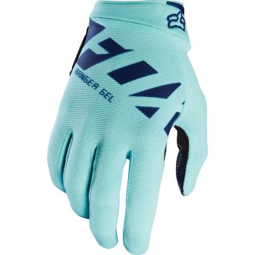 Велоперчатки Fox Ranger Gel Glove, синий (2017)Велоперчатки<br>Лёгкие и удобные перчатки с гелевыми вставками, обеспечивающими амортизацию и дополнительный комфорт при езде. Модель выполнена из дышащего синтетического материала, ладонь отделана тонкой искусственной кожей Clarino.<br><br>ОСОБЕННОСТИ<br><br>Ладонь из тонкой искусственной кожи Clarino с мягкими гелевыми вставками<br>Силиконовые накладки на кончиках пальцев для лучшего сцепления<br><br>Длина ладони<br>Размер: L (194-200 мм)<br>Размер: M (188-194 мм)<br>Размер: XL (200-206 мм)<br>Размер: S (182-188 мм)<br>Размер: XXL (206-212 мм)<br>