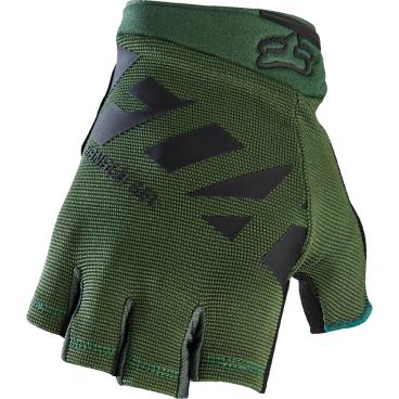 Велоперчатки Fox Ranger Gel Short Glove Fatigue, зеленый (2017)Велоперчатки<br>Лёгкие и удобные перчатки без пальцев от Fox. Основная их особенность – гелевые вставки, обеспечивающие амортизацию и дополнительный комфорт при езде. Модель выполнена из дышащего синтетического материала, ладонь отделана тонкой искусственной кожей Clarino.<br><br>ОСОБЕННОСТИ<br><br>Ладонь из тонкой искусственной кожи Clarino с мягкими гелевыми вставками<br>Удобная компактная застёжка<br>Длина ладони<br>Размер: L (194-200 мм)<br>Размер: M (188-194 мм)<br>Размер: XL (200-206 мм)<br>Размер: S (182-188 мм)<br>Размер: XXL (206-212 мм)<br>