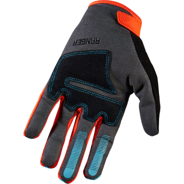 Велоперчатки Fox Ranger Glove Aqua, черно-синий (2016)Велоперчатки<br>Лёгкие эластичные перчатки, которые отлично подойдут для тёплого времени года. Верх модели выполнен из дышащей синтетической ткани, а ладонь отделана двойным слоем искусственной кожи Clarino.<br> ОСОБЕННОСТИ Верх выполнен из дышащей ткани с оригинальным узором Ладонь из двухслойной искусственной кожи Clarino Накладка из микрофибры на большом пальце Удобная застёжка на липучке<br><br>Ладонь из тонкой искусственной кожи Clarino с мягкими гелевыми вставками<br>Удобная компактная застёжка<br>Длина ладони<br>Размер: L (194-200 мм)<br>Размер: M (188-194 мм)<br>Размер: XL (200-206 мм)<br>Размер: S (182-188 мм)<br>Размер: XXL (206-212 мм)<br>
