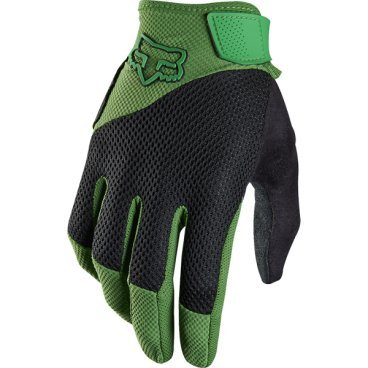Велоперчатки Fox Reflex Gel Glove, зеленый (2016)Велоперчатки<br>Лёгкие и удобные перчатки с гелевыми вставками, обеспечивающими амортизацию и дополнительный комфорт при езде. Модель выполнена из дышащего синтетического материала, ладонь отделана двухслойной искусственной кожей Clarino.<br> <br>ОСОБЕННОСТИ<br> <br>Ладонь из двухслойной искусственной кожи Clarino с мягкими гелевыми вставками<br>Силиконовые накладки на кончиках пальцев для лучшего сцепления<br>Большой палец отделан микрофиброй<br>Удобная компактная застёжка<br>Длина ладони<br>Размер: L (194-200 мм)<br>Размер: M (188-194 мм)<br>Размер: XL (200-206 мм)<br>Размер: S (182-188 мм)<br>Размер: XXL (206-212 мм)<br>