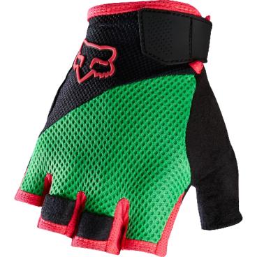 Велоперчатки Fox Reflex Gel Short Glove Flow, зеленый (2016)Велоперчатки<br>Лёгкие и удобные перчатки без пальцев с гелевыми вставками, обеспечивающими амортизацию и дополнительный комфорт при езде. Модель выполнена из дышащего синтетического материала, ладонь отделана двухслойной искусственной кожей Clarino.<br><br>ОСОБЕННОСТИ<br><br>Ладонь из двухслойной искусственной кожи Clarino с мягкими гелевыми вставками<br>Силиконовые накладки на кончиках пальцев для лучшего сцепления<br>Большой палец отделан микрофиброй<br>Удобная компактная застёжка<br>Длина ладони<br>Размер: L (194-200 мм)<br>Размер: M (188-194 мм)<br>Размер: XL (200-206 мм)<br>Размер: S (182-188 мм)<br>Размер: XXL (206-212 мм)<br>