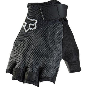 Велоперчатки Fox Reflex Gel Short Glove, черный (2016)Велоперчатки<br>Лёгкие и удобные перчатки без пальцев с гелевыми вставками, обеспечивающими амортизацию и дополнительный комфорт при езде. Модель выполнена из дышащего синтетического материала, ладонь отделана двухслойной искусственной кожей Clarino.<br> <br>ОСОБЕННОСТИ<br> <br>Ладонь из двухслойной искусственной кожи Clarino с мягкими гелевыми вставками<br>Силиконовые накладки на кончиках пальцев для лучшего сцепления<br>Большой палец отделан микрофиброй<br>Удобная компактная застёжка<br>