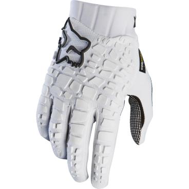 Велоперчатки Fox Sidewinder Glove, бело-черный (2017)Велоперчатки<br>Традиционные перчатки от Fox с неопреновой защитой костяшек. Верх модели выполнен из дышащего сетчатого материала, ладонь отделана тонкой искусственной кожей Clarino.<br><br>ОСОБЕННОСТИ<br><br>Защитные неопреновые накладки на костяшках<br>Ладонь из искусственной кожи Clarino<br>Большой палец отделан микрофиброй<br>Силиконовые накладки на пальцах для лучшего сцепления<br>Удобные застёжки на липучках<br><br>Длина ладони<br>Размер: L (194-200 мм)<br>Размер: M (188-194 мм)<br>Размер: XL (200-206 мм)<br>Размер: S (182-188 мм)<br>Размер: XXL (206-212 мм)<br>