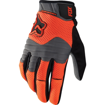 Велоперчатки Fox Sidewinder Polar Glove Flow, оранжевый (2016)Велоперчатки<br>Стильные и удобные перчатки для катания в холодную погоду. Верх модели выполнен из мягкого сетчатого материала и утеплён флисом, ладонь отделана тонкой искусственной кожей Clarino. Полиуретановые накладки на пальцах обеспечивают дополнительную защиту от холодного ветра, а неопреновые вставки в области костяшек существенно смягчат удар в случае падения.<br><br>ОСОБЕННОСТИ<br><br>Материал верха: синтетика<br>Материал ладони: искусственная кожа Clarino<br>Утеплитель: флис 160 GMS<br>Полиуретановые накладки на пальцах для дополнительной ветрозащиты<br>Неопреновые накладки на костяшках<br>Удобная застёжка на липучке<br>Длина ладони<br>Размер: L (194-200 мм)<br>Размер: M (188-194 мм)<br>Размер: XL (200-206 мм)<br>Размер: S (182-188 мм)<br>Размер: XXL (206-212 мм)<br>