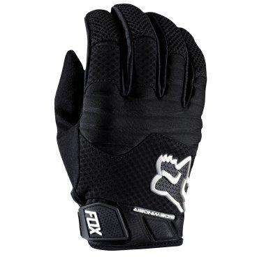 Велоперчатки Fox Sidewinder Polar Glove, черный (2016)Велоперчатки<br>Стильные и удобные перчатки для катания в холодную погоду. Верх модели выполнен из мягкого сетчатого материала и утеплён флисом, ладонь отделана тонкой искусственной кожей Clarino. Полиуретановые накладки на пальцах обеспечивают дополнительную защиту от холодного ветра, а неопреновые вставки в области костяшек существенно смягчат удар в случае падения.<br><br>ОСОБЕННОСТИ<br><br>Материал верха: синтетика<br>Материал ладони: искусственная кожа Clarino<br>Утеплитель: флис 160 GMS<br>Полиуретановые накладки на пальцах для дополнительной ветрозащиты<br>Неопреновые накладки на костяшках<br>Удобная застёжка на липучке<br>Длина ладони<br>Размер: L (194-200 мм)<br>Размер: M (188-194 мм)<br>Размер: XL (200-206 мм)<br>Размер: S (182-188 мм)<br>Размер: XXL (206-212 мм)<br>