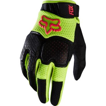 Велоперчатки Fox Unabomber Glove, неоново- красные (2016)Велоперчатки<br>Велоперчатки Fox Unabomber. С первых минут использования неизменно поражает удобством и комфортом, который проявляется абсолютно в любых аспектах. В этих непримечательных на первый взгляд перчатках кроется множество продуманных решений, обеспечивающих непревзойдённую степень комфорта в длительном ношении. Мягкий и лёгкий материал низкого профиля работает и для удобства и для безопасности, которую обеспечивает встроенная панель TRP. Перчатки не боятся влаги, т.к. поверхность покрыта молекулярной защитой по технологии IonMask. Также Unabomber гарантируют уверенное удержание и качественное сцепление с поверхностью в любых условиях благодаря применению силикона в сочетании с грубой абсорбирующей поверхностью в контактных точках. Универсальные велоперчатки, которые удобно использовать в туристических поездках и в мероприятиях, где требуется защита.<br><br>ОСОБЕННОСТИ:<br><br>Дизайн лёгкого профиля, наилучшее цветовое решение.<br>Сетчатая кожа и ткань с отверстиями, для дополнительной защиты и циркуляции воздуха.<br>Защита пальцев от удара и перераспределения энергии Poron XRD.<br>Молекулярная защита с водоотталкивающими свойствами Ionmask.<br>Непревзойдённый комфорт и сцепление по всей поверхности с системой Ax Suede Fit.<br>Встроенная панель TPR с обратной стороны для дополнительной защиты.<br>Абсорбирующая поверхность на кончиках пальцев.<br>Силикон в точках соприкосновения дя дополнительного сцепления.<br>Низкопрофильная застёжка на запястье.<br>Длина ладони<br>Размер: L (194-200 мм)<br>Размер: M (188-194 мм)<br>Размер: XL (200-206 мм)<br>Размер: S (182-188 мм)<br>Размер: XXL (206-212 мм)<br>