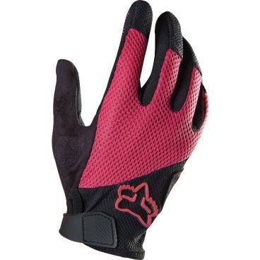 Велоперчатки женские Fox Reflex Gel Womens Glove, розовый (2016)Велоперчатки<br>Лёгкие и удобные перчатки, созданные специально для женщин. Основная их особенность – гелевые вставки, обеспечивающие амортизацию и дополнительный комфорт при езде. Модель выполнена из дышащего синтетического материала, ладонь отделана двухслойной искусственной кожей Clarino.<br><br> <br><br>ОСОБЕННОСТИ<br><br> <br>Ладонь из двухслойной искусственной кожи Clarino с мягкими гелевыми вставками<br>Силиконовые накладки на кончиках пальцев для лучшего сцепления<br>Большой палец отделан микрофиброй<br>Удобная компактная застёжка<br>Длина ладони<br>Размер: S (170-176 мм)<br>Размер: M (176-182 мм)<br>Размер: L (182-188 мм)<br>Размер: XL (188-194 мм)<br>