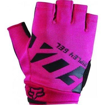 Велоперчатки женские Fox Ripley Gel Short Womens Glove, черно-розовый (2017)Велоперчатки<br>FOX WOMENS RIPLEY GEL SHORT GLOVE это суперкомфортные женские перчатки для езды на горном велосипеде:<br><br>- перчатки с коротким палецем - это отличный выбор в жаркую погоду;<br><br>- гелевые вставки на ладошках обеспечат максимальный уровень комфорта и предовратят забивание мышц при длительных поездках;<br><br>- застежка-липучка на запястье позволит легко как зафиксировать, так и снять перчатки с ладони.<br><br>Длина ладони<br>Размер: S (170-176 мм)<br>Размер: M (176-182 мм)<br>Размер: L (182-188 мм)<br>Размер: XL (188-194 мм)<br>
