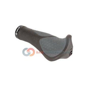 Рога(мини)+ручки на руль велосипедные VELO резина+гель135мм черно-серые 5-410466Ручки и Рога<br>NEW, резиновые с гелевыми вставками, эргономичные, 135мм,алюминиевый фиксатор, черно-серые, 230г/пара, блистер<br>