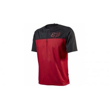 Велофутболка Fox Ranger SS, красныйВелофутболка<br>Джерси лаконичного дизайна, выполненное из тонкой синтетической ткани. Модель отлично дышит и быстро сохнет, а удлинённая задняя часть хорошо прикрывает поясницу во время езды.<br><br>ОСОБЕННОСТИ<br><br>Материал: 100% полиэстер<br>Швы сглажены для дополнительного комфорта<br>Удлинённая задняя часть прикрывает поясницу во время езды<br>Вставки из сетчатого материала для лучшей вентиляции<br>Воротник на молнии<br>Лоскут для протирки очков на внутреннем шве<br>Выход для наушников<br>