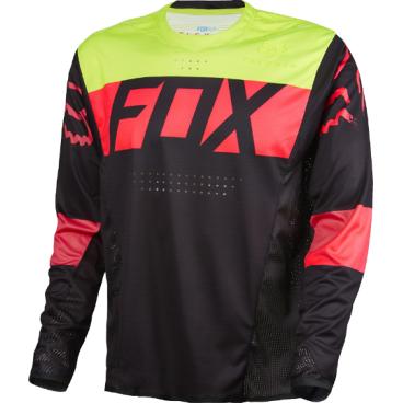 Велоджерси Fox Flexair DH LS, черныйВелоджерси<br>Абсолютно новое джерси Fox Racing с длинным рукавом – результат длительной совместной работы дизайнеров и райдеров команды Fox. На протяжении всего прошлого года Джош Брайсленд, Стив Смит и другие быстрейшие гонщики команды ездили в этих джерси, и джерси показали себя более чем достойно. Данная модель выполнена из эластичной синтетической ткани, которая быстро сохнет и хорошо отводит влагу от тела, а бесшовный воротник и манжеты рукавов обеспечивают дополнительный комфорт, дабы ничто не отвлекало вас от достижения высочайших результатов.<br><br>ОСОБЕННОСТИ<br><br>    Материал: полиэстер/спандекс<br>    Самое лёгкое джерси от Fox – на 25% легче стандартных<br>    Бесшовный воротник и манжеты рукавов для максимального комфорта<br>