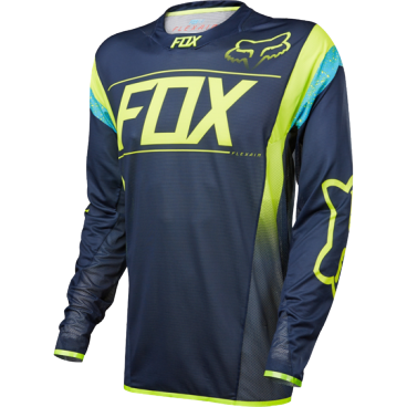 Велоджерси Fox Flexair DH LS, сине-желтыйВелоджерси<br>Абсолютно новое джерси Fox Racing с длинным рукавом – результат длительной совместной работы дизайнеров и райдеров команды Fox. На протяжении всего прошлого года Джош Брайсленд, Стив Смит и другие быстрейшие гонщики команды ездили в этих джерси, и джерси показали себя более чем достойно. Данная модель выполнена из эластичной синтетической ткани, которая быстро сохнет и хорошо отводит влагу от тела, а бесшовный воротник и манжеты рукавов обеспечивают дополнительный комфорт, дабы ничто не отвлекало вас от достижения высочайших результатов.<br><br>ОСОБЕННОСТИ<br><br>    Материал: полиэстер/спандекс<br>    Самое лёгкое джерси от Fox – на 25% легче стандартных<br>    Бесшовный воротник и манжеты рукавов для максимального комфорта<br>