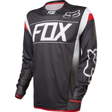 Велоджерси Fox Flexair DH LS, черно-белыйВелоджерси<br>Абсолютно новое джерси Fox Racing с длинным рукавом – результат длительной совместной работы дизайнеров и райдеров команды Fox. На протяжении всего прошлого года Джош Брайсленд, Стив Смит и другие быстрейшие гонщики команды ездили в этих джерси, и джерси показали себя более чем достойно. Данная модель выполнена из эластичной синтетической ткани, которая быстро сохнет и хорошо отводит влагу от тела, а бесшовный воротник и манжеты рукавов обеспечивают дополнительный комфорт, дабы ничто не отвлекало вас от достижения высочайших результатов.<br><br>ОСОБЕННОСТИ<br><br>    Материал: полиэстер/спандекс<br>    Самое лёгкое джерси от Fox – на 25% легче стандартных<br>    Бесшовный воротник и манжеты рукавов для максимального комфорта<br>