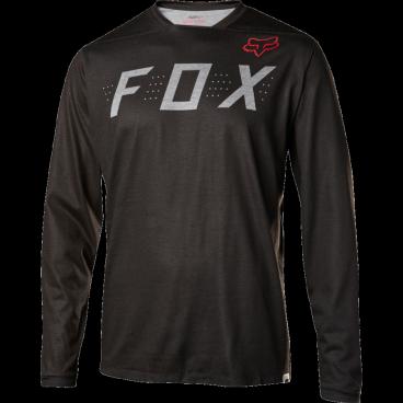 Велоджерси Fox Indicator LS, черныйВелоджерси<br>Джерси с длинным рукавом, которое отлично подойдёт для трейлрайдинга и катания в стиле ол-маунтин. Модель отлично дышит и быстро сохнет, а удлинённая задняя часть хорошо прикрывает поясницу во время езды.<br><br>ОСОБЕННОСТИ<br><br>Материал: 100% полиэстер<br>Швы сглажены для дополнительного комфорта<br>Удлинённая задняя часть прикрывает поясницу во время езды<br>Вставки из сетчатого материала для лучшей вентиляции<br>Оригинальная графика<br>Лоскут для протирки очков на внутреннем шве<br>Выход для наушников<br>