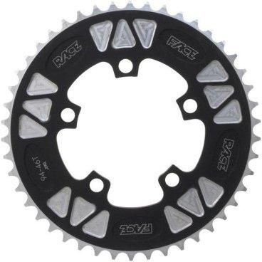 Звезда Race Face DH, 104x40T, черный, RRDH104x40Системы<br>Звезды Race Rings DH, изготовленные в Канаде из алюминия 7075-T6, предназначены для использования в качестве единственной ведущей звезды на велосипедах для скоростного спуска.<br> <br>Характеристики:<br>Материал: алюминий Al7075-Т6<br>Крепление: 4 болта<br>BCD: 104 мм<br>Привод: 1x9 скоростей<br>Цвет: черно-серебристый<br>