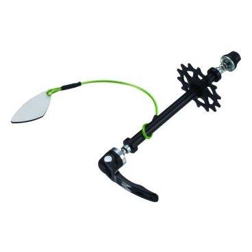 Распорка рамы заднего колеса Birzman Chain Keeper, BM09-PO-ACK-01-KВелоинструменты<br>Специальная распорка, предназначенная для установки вместо заднего колеса во время ремонта, обслуживания, настройки или транспортировки велосипеда. Совместима со стандартными 9-миллиметровыми дропаутами, фиксируется при помощи традиционного эксцентрика.<br>