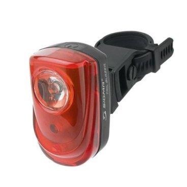 Фонарь задний Sigma Sport Tail Guard, 11818Фары и фонари для велосипеда<br>Велосипедная мигалка от Sigmа Sport позволит быть замеченным в темное время. Задняя мигалка Sigma Sport Tail Guard имеет 5 светодиодов, простое и надежное крепление. Качественная мигалка Sigmа для безопасного катания в темное время суток.<br>Описание:<br>-5 светодиоов<br>-4 режима работы<br>-Хороший угол обзора<br>-Питание от 2 батареек типа ААА<br>-Высокая продолжительность работы<br>