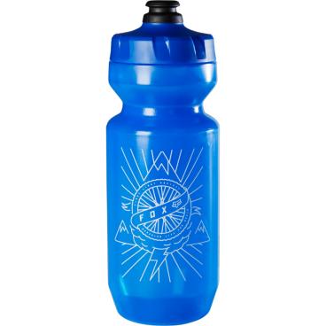 Фляга для воды Fox 22 FLS Bottle, синий, 660 мл, 18503-002-OSФляги и Флягодержатели<br>Объёмная и удобная в использовании фляга для воды. Съёмная крышка и широкое горлышко позволяют легко наполнить флягу из любого источника и даже положить внутрь лёд. А оригинальная графика дополнительно отличает её от аналогов.<br><br><br><br>ОСОБЕННОСТИ<br><br><br><br>Материал: пищевой пластик<br><br>Объём: 660мл<br>