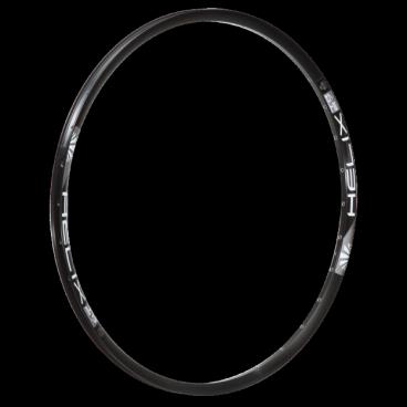Обод 27,5, 32h, SunRingle Helix TR27, черный, R99E14P13605CОбода<br>Модель Helix можно назвать универсальной моделью ободов от SUNringle, подходящих для сборки колёс как для Кросс-кантри, так и для Олл-маунтин и эндуро. Сочетают высокую надёжность и низкий вес.<br><br>Характеристики:<br>Назначение: трейл, олл-маунтин, эндуро<br>Размеры: 27.5<br>Внешняя ширина обода: 27 мм<br>Внутренняя ширина обода: 23 мм<br>Высота обода: 19.9 мм<br>ВВес: 27.5-489 гр<br>ВТип обода: клёпаный<br>ВТип тормозов: только дисковые<br>ВКол-во отверстий под спицы: 32<br>ВВозможна установка бескамерной резины<br>