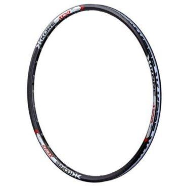 """Обод 27,5, Kore XCD 32H P/V 17-23.5 мм, пистон. Pinned Disk, черный, KRMXCD65132BATОбода<br>XCD - лёгкий и надёжный обод по отличной цене. Обод изготовлен из алюминиевого сплава марки 6061-T6, он достаточно лёгок для кросс-кантри и достаточно прочен для катания в стиле ол-маунтин.<br><br><br><br>ОСОБЕННОСТИ<br><br><br><br>Материал: алюминиевый сплав марки 6061-T6<br><br>Совместим с бескамерными покрышками стандарта UST<br><br>Размер: 27.5""""<br><br>Ширина: 23.5мм<br><br>Высота: 20мм<br><br>Количество отверстий для спиц: 32<br>"""