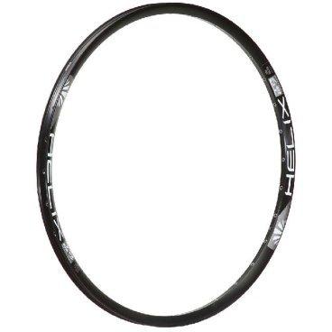 Обод 29, 32h, SunRingle Helix TR27 SL, черный, RM8E14P13605CОбода<br>Лёгкий и жёсткий пистонированный обод для трейлрайдинга и для катания в стиле ол-маунтин. Изготовлен из алюминиевого сплава и подходит только для использования с дисковыми тормозами.<br><br><br><br>ОСОБЕННОСТИ<br><br><br><br>Материал: алюминиевый сплав<br><br>Подходит только для использования с дисковыми тормозами<br><br>Размер: 29 дюймов<br><br>Ширина: 27мм<br><br>Высота: 19.9мм<br><br>Количество отверстий для спиц: 32<br><br>Подходит для использования с бескамерной резиной стандарта STR<br><br>Вес: 522 грамма<br>