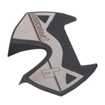 Накладки для педали TIME Xpresso Platform Inox, серый, 51006303Педали для велосипедов<br>Сменные накладки для шоссейных педалей Time X-presso. Изготовлены из нержавеющей стали, цвет – серый. Вес – 7 г.<br>