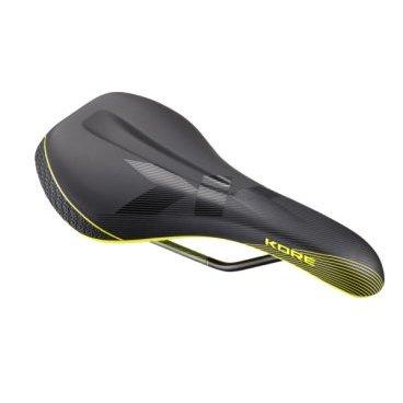 Седло Kore Fuse III Cr-Mo, 270х135мм, черно-желтый, KSD1601BYATСедла для велосипедов<br>Новое универсальное седло от Kore – стильное, удобное и технологичное. Основа данной модели изготовлена из гибкого нейлона, что обеспечивает максимальный комфорт, а обшивка выполнена из устойчивой к истиранию микрофибры. Оптимальный выбор как для катания в стиле эндуро или ол-маунтин, так и для дальних путешествий.<br><br><br><br>ОСОБЕННОСТИ<br><br><br><br>Материал рамок: сталь (хромомолибденовый сплав)<br><br>Материал обшивки: микрофибра<br><br>Полые рамки из хромомолибденовой стали<br><br>Диаметр рамок: 7мм<br><br>Размер: 270х135мм<br><br>Вес: 302 грамма<br>