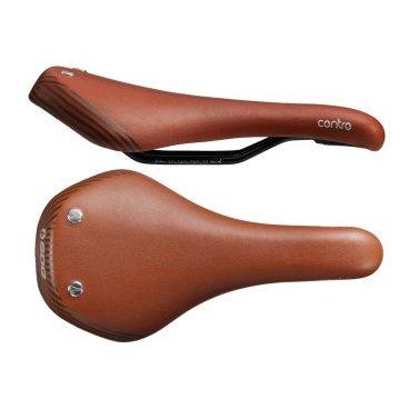 Седло SDG Duster Centre Steel, 290х145мм, коричнево-серебристый, 07305DSСедла для велосипедов<br>Классическая универсальная модель от SDG в оригинальном ретро-исполнении. Основные преимущества данной модели – это обшивка из натуральной кожи, набивка из сверхлёгкого пеноматериала и светоотражающие элементы для дополнительной безопасности на дороге.<br><br><br><br><br>ОСОБЕННОСТИ<br><br><br><br><br><br>Материал верха: натуральная кожа<br><br><br>Материал основы: нейлон/резина<br><br><br>Материал рамок: хромомолибденовая сталь<br><br><br>Светоотражающие элементы<br><br><br>Размер: 290х145мм<br>