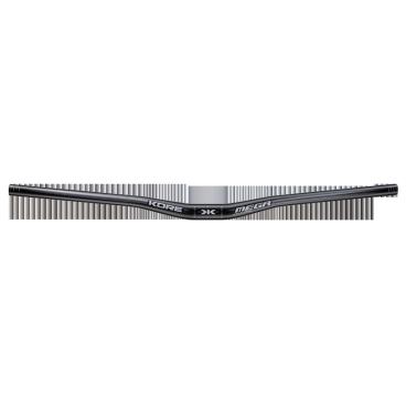 Руль Kore Mega, 760x20x31.8, черный, KHBMEGA776020BBATРули<br>Лёгкий и жёсткий алюминиевый руль для катания в стиле эндуро и ол-маунтин, изготовленный из сплава марки 7075-Т6. Руль декорирован принтами в виде надписей, а специальные риски на концах позволяют легко укоротить его до нужной длины.<br><br><br><br>ОСОБЕННОСТИ<br><br><br><br>Материал: алюминиевый сплав марки 7075-Т6<br><br>Ширина: 760мм<br><br>Геометрия: изгиб вверх – 5 градусов, изгиб назад – 8.5 градусов, подъём – 20мм<br><br>Специальные риски на концах руля позволяют легко укоротить его до нужной длины<br><br>Цвет: чёрный<br>