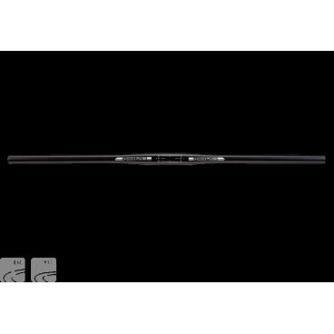 Руль Kore XCD 1, 710x31.8 9°, черный, KHBXCD71009BBATРули<br>Высококачественный прямой руль для кросс-кантри и трейлрайдинга по отличной цене. Руль изготовлен из авиационного алюминия марки 6061-T6 и декорирован лазерной гравировкой. Вес данной модели (266 граммов) порадует даже самых требовательных любителей лёгких велосипедов.<br><br><br><br>ОСОБЕННОСТИ<br><br><br><br>Материал: алюминиевый сплав марки 6061<br><br>Ширина: 710мм<br><br>Геометрия: изгиб вверх – 5 градусов, изгиб назад – 9 градусов, подъём – 0мм<br><br>Диаметр (в месте крепления к выносу): 31.8мм<br>