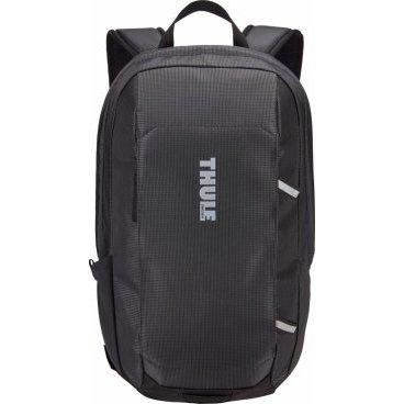 Рюкзак городской Thule EnRoute, 13L, Daypack, черный, 3203428Велорюкзаки<br>Thule EnRoute Backpack 13L<br>Элегантный рюкзак объемом 13 л с карманом SafeEdge для ноутбука и отделениями для хранения самых необходимых повседневных вещей.<br><br>Особенности:<br><br>- Защитное отделение для ноутбука с диагональю экрана 13 дюймов и конструкцией SafeEdge<br>- Защитный карман с мягкой подкладкой для планшета<br>- Быстрый доступ к небольшим предметам через передний карман<br>- Потайные петли со светоотражающими деталями<br>- Внутренний карман на молнии для небольших предметов<br>- Воздухопроницаемая задняя панель обеспечивает комфорт при переноске<br>- В растягивающийся сетчатый боковой карман удобно ставить бутылку воды<br>- Точка крепления проблескового фонаря для дополнительной безопасности при передвижении<br><br><br>Технические характеристики:<br>Размеры25 x 20 x 42 см<br>Отсек для ноутбука — размеры34.3 x 23.1 x 2.2 см<br>Вес0.52 kg<br>Объем13 l<br>ЦветMonarch | Black | Mikado<br>МатериалНейлон<br>