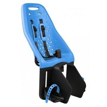 Детское велосипедное кресло Thule Yepp Maxi Easy Fit, на багажник, голубой, 12020212Детское велокресло<br>Особенности:<br>- Детское велосипедное сиденье быстро и легко устанавливается на велосипед и крепится к заднему багажнику с окном EasyFit или багажнику, оснащенному переходником Thule Yepp Maxi EasyFit (продается отдельно)<br>- Мягкое сиденье, смягчающее толчки и вибрацию, обеспечивает абсолютный комфорт для ребенка<br>- Максимальный комфорт и безопасность благодаря регулируемому 5-точечному ремню безопасности с подкладкой<br>- Оснащенная защитой от детей пряжка позволяет быстро и легко зафиксировать ребенка<br>- Дополнительная видимость на расстоянии благодаря встроенному рефлектору и точке крепления светового индикатора<br>- Адаптируется к параметрам ребенка по мере его роста и обеспечивает идеальную посадку благодаря регулируемым опорам для ног и фиксирующему ремню<br>- Благодаря водоотталкивающим материалам сиденье всегда остается сухим и легко чистится<br>- Разработано и протестировано для детей от 9 месяцев* до 6 лет, весом до 22 кг. (*Обратитесь к педиатру, если ребенку менее 1 года).<br><br><br>Технические характеристики:<br>Грузоподъемность 22 kg<br>Вес 3.8 kg<br>Ремень безопасности 5-point<br>
