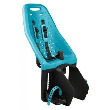 Детское велосипедное кресло Thule Yepp Maxi Easy Fit, на багажник, цвет морской волны, 12020230Детское велокресло<br>Особенности:<br>- Детское велосипедное сиденье быстро и легко устанавливается на велосипед и крепится к заднему багажнику с окном EasyFit или багажнику, оснащенному переходником Thule Yepp Maxi EasyFit (продается отдельно)<br>- Мягкое сиденье, смягчающее толчки и вибрацию, обеспечивает абсолютный комфорт для ребенка<br>- Максимальный комфорт и безопасность благодаря регулируемому 5-точечному ремню безопасности с подкладкой<br>- Оснащенная защитой от детей пряжка позволяет быстро и легко зафиксировать ребенка<br>- Дополнительная видимость на расстоянии благодаря встроенному рефлектору и точке крепления светового индикатора<br>- Адаптируется к параметрам ребенка по мере его роста и обеспечивает идеальную посадку благодаря регулируемым опорам для ног и фиксирующему ремню<br>- Благодаря водоотталкивающим материалам сиденье всегда остается сухим и легко чистится<br>- Разработано и протестировано для детей от 9 месяцев* до 6 лет, весом до 22 кг. (*Обратитесь к педиатру, если ребенку менее 1 года).<br><br><br>Технические характеристики:<br>Грузоподъемность 22 kg<br>Вес 3.8 kg<br>Ремень безопасности 5-point<br>
