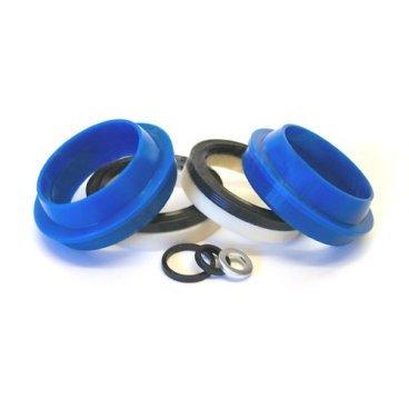 Сальники Enduro Fox, 36 mm, синий, FK-6652Велосипедная вилка<br>Комплект сальников для вилок Fox 36 (Van, Float, Talas) от уже хорошо зарекомендовавшего себя производителя, продукцию которого многие райдеры предпочитают оригинальным расходникам.<br>