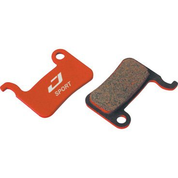 Тормозные колодки Jagwire Mountain Sport Disc Pad Shimano XTR [25], BWD2002Тормоза на велосипед<br>Высококачественные металлизированные колодки на стальной основе, обеспечивающие эффективное и почти бесшумное торможение. <br><br>Совместимость: <br>XTR M965, M966, M975 <br>Saint M800<br>XT M775, M765 <br>Hone M601, SLX M665, LX 585<br>Deore M596, M545, M535 <br>R-505, S-500<br>