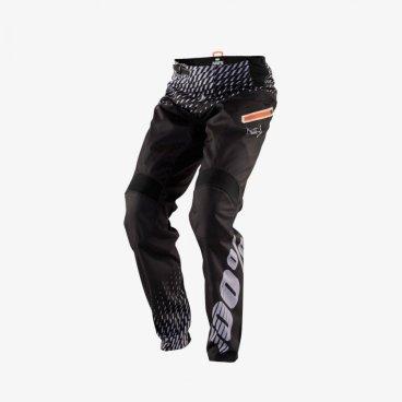 Велоштаны 100% R-Core Supra DH Pant 2018, черный/серыйВелоштаны<br>Штаны R-Core Supra DH идеально подходят, для катания под гору. Разработан из полиэфирного материала для долговечности и защиты. Также в нужных местах присутсвуют эластичные вставки для вентиляции. Чтобы эти штаны были надежно закреплены, они оснащены регулируемой застежкой для идеальной посадки.<br><br><br><br>Ширина пояса: 31 см.<br>Длина по внешнему шву: 106 см.<br>Длина по внутреннему шву: 80 см.<br>Ширина штанины внизу: 12 см.<br>