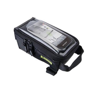 Сумка на вынос Birzman Zyklop Navigator IIl, 17/9/8 см, черный, BM13-PO-TTB02-KNGВелосумки<br>Очень вместительная и удобная универсальная сумка, идеальная для использования в условиях города. Основная особенность данной модели - специальное прозрачное окошко для работы с сенсорными дисплеями.<br><br>Функции<br><br>Сумка для крепления на верхнюю трубу рамы/Окошко для работы с сенсорными дисплеями (15х18 см)<br><br>Материал<br><br>Полиэстер 300D (влагоотталкивающий)<br><br>Размер<br><br>17x9x8cm<br>