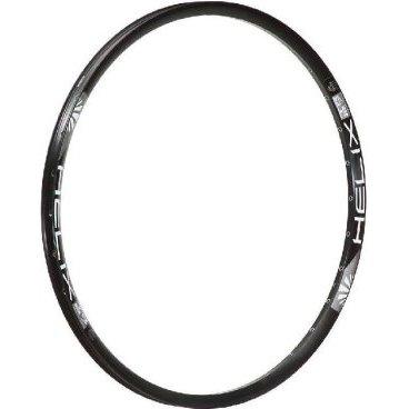 Обод 26, 32h, SunRingle Helix TR27 W/E, черный, R96E14P13605CОбода<br>Лёгкий и жёсткий пистонированный обод SunRingle для трейлрайдинга и для катания в стиле ол-маунтин. Изготовлен из алюминиевого сплава и подходит только для использования с дисковыми тормозами.<br> <br>ОСОБЕННОСТИ<br>Материал: алюминиевый сплав<br>Подходит только для использования с дисковыми тормозами<br>Размер: 26 дюймов<br>Ширина: 27мм<br>Высота: 19.9мм<br>Количество отверстий для спиц: 32<br>Подходит для использования с бескамерной резиной стандарта STR<br>Вес: 465 граммов<br>