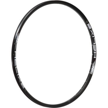 Обод 26, 32h, SunRingle Helix TR29 W/E, черный, RF6E14P13605CОбода<br>Модель Helix можно назвать универсальной моделью ободов SUNringle, подходящих для сборки колёс как для Кросс-кантри, так и для Олл-маунтин и эндуро. Сочетают высокую надёжность и низкий вес.<br> <br>Характеристики:<br>Размеры: 26?<br>Внешняя ширина обода: 29 мм<br>Внутренняя ширина обода: 25,5 мм<br>Высота обода: 21,5 мм<br>Вес: 26?- 465 гр<br>Тип обода: клёпаный<br>Тип тормозов: только дисковые<br>Кол-во отверстий под спицы: 32<br>Возможна установка бескамерной резины<br>